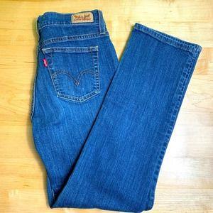 Levi's 505 straight leg jeans size 4S W27 L30